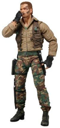 """Neca 7"""" Predators Series 8 Jungle Extraction Dutch Schaefer Arnold Schwarzengger Action Figure by NECA. $22.93. The 8th Series in the #1 selling Predator collection celebrates the 25th Anniversary of the original 1987 Predator film with the long awaited and much anticipated debut of Arnold Schwarzengger as Dutch Schaefer! For the first time the hero joins the line and is presented in 2 different versions.. Jungle Extraction Dutch is faithful to his appearance as the..."""