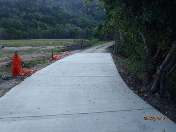 Concrete Road Construct