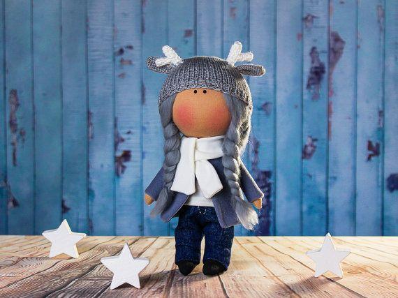 Doll Dolly. Tilda doll. Textile doll. Handmade. Lovely by OwlsUa