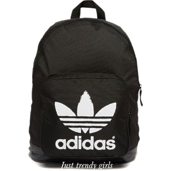 Adidas black backpack- Trendy backpacks for college see collection http://www.justtrendygirls.com/trendy-backpacks-for-girls/