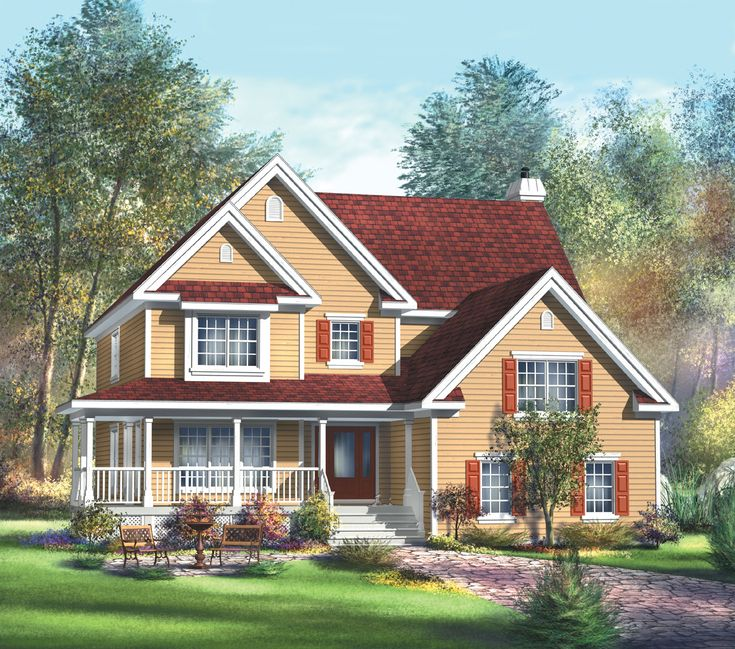 Plan 80448pm Spacious Country Retreat With Images