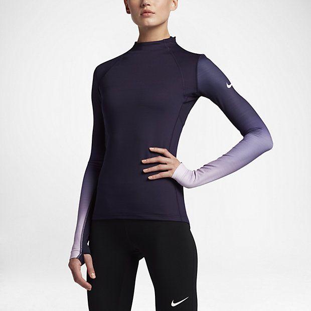 Maglia da training a manica lunga Nike Pro HyperWarm - Donna