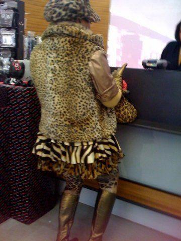 Леопардовый принт 2015-2016 на платьях, штанах Фото | Модные платья 2015