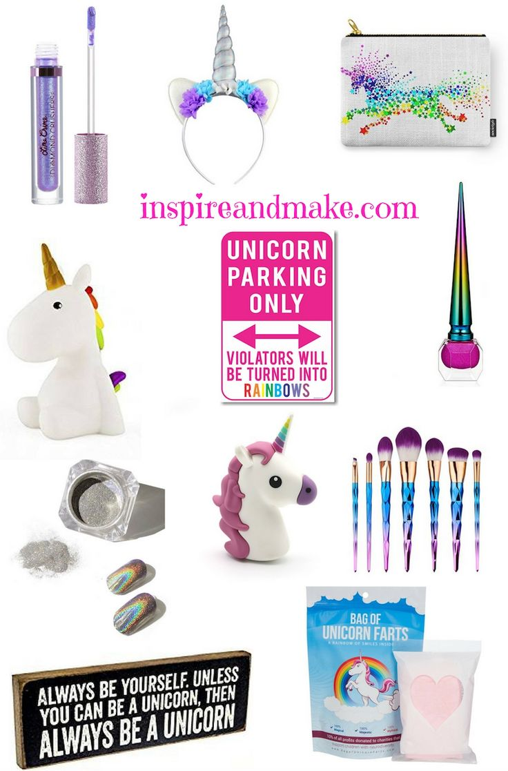 Unicorn Inspired Gift Ideas for Easter, Birthday, Christmas or any other celebration. How To make a Tween or Teen Unicorn gift.