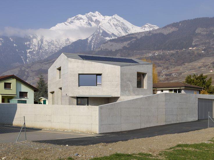 Savioz Fabrizzi Architectes: Maison Fabrizzi — Thisispaper — What we save, saves us.