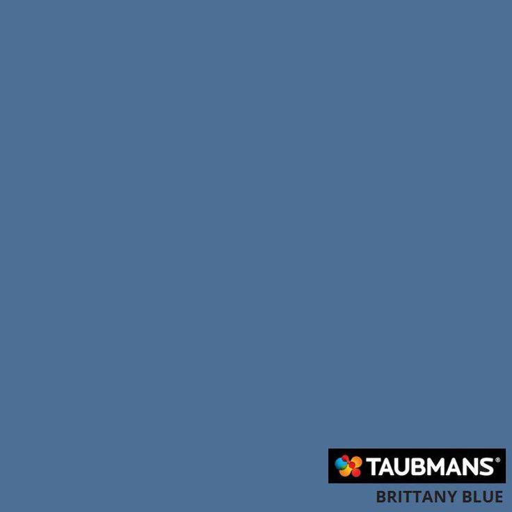#Taubmanscolour #brittanyblue