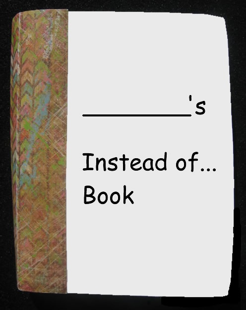 """Get in the Fold!: vocabulary """"instead of book"""" replace common words with more challenging synonyms."""
