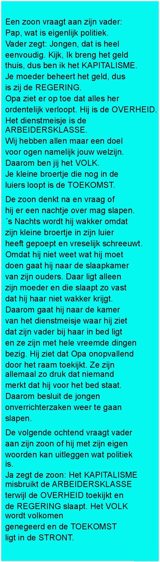 Een zoon vraagt - Zieer.nl
