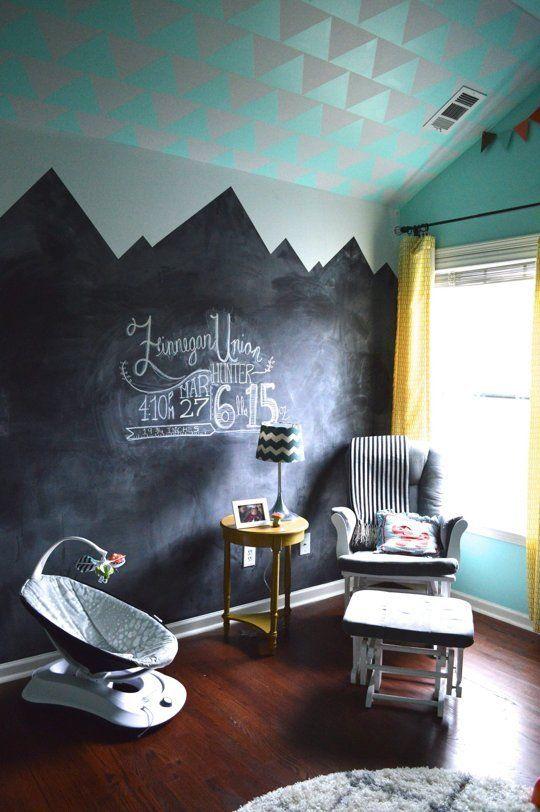 Finnegan's Bright Mint Nursery — My Room