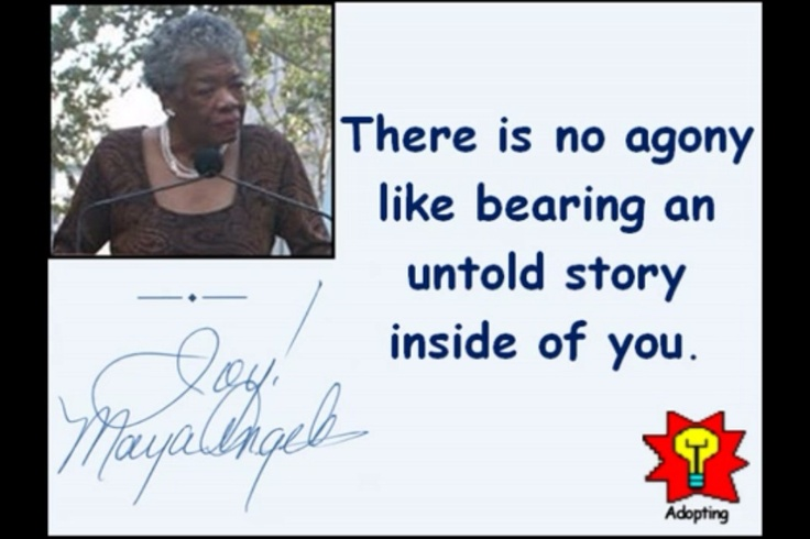 maya angelou s what s so funny an The themes encompassing african-american writer maya angelou's seven  autobiographies include racism, identity, family, and travel angelou (1928–2014)  is.
