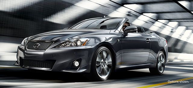 Lexus IS Convertible, IS 350 C, IS 250 & 350 C F SPORT   2014 by December 27, 2013