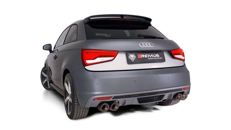 Prawdziwa rewolucja dźwiękowa w najmniejszym, sportowym Audi! Sportowy układ wydechowy z klapami Remus to gwarancja niesamowitego dźwięku zarówno w mieście jak i podczas sportowej jazdy.  Więcej informacji: http://www.remus-polska.pl/sportowy-uklad-wydechowy-z-klapami-dla-audi-s1/  Film z brzmieniem: https://www.youtube.com/watch?v=1Tf8Ilan07M  Wyłączny Dystrybutor Remus Polska http://www.remus-polska.pl/