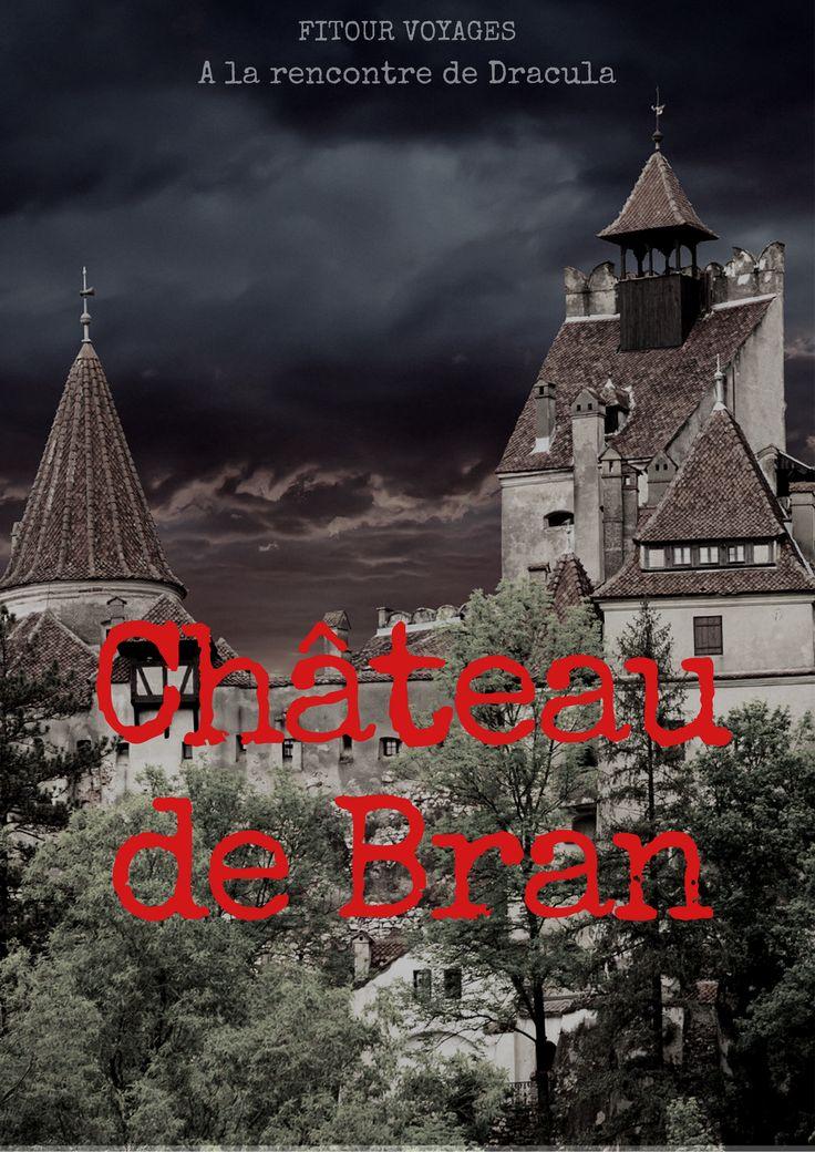Dans les montagnes des Carpates, un des plus imposants monuments historiques...Le Château de Bran ! Demeure de Vlad III L'Empaleur #Dracula