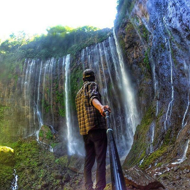 Tumpak Sewu, Lumajang. Photo by @wijapuccino