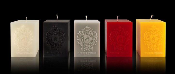 Tiziana Terenzi large square pillar candles