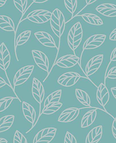 BHF DL40206 Sparkle Leaf Wallpaper - Teal/Silver BHF http://www.amazon.co.uk/dp/B00FYVXL38/ref=cm_sw_r_pi_dp_lTOZwb158J1PA