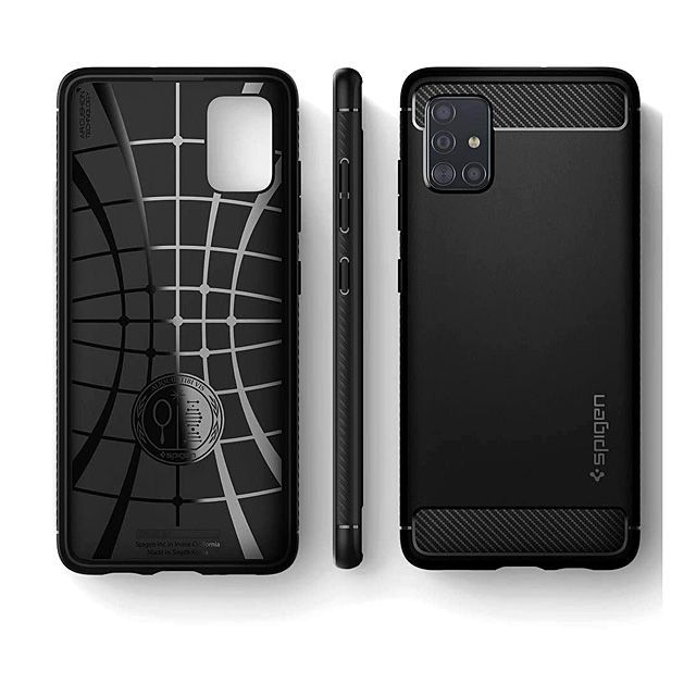 Spigen Rugged Armor Case For Samsung Galaxy A51 Samsung Phone Cases Samsung Galaxy Samsung