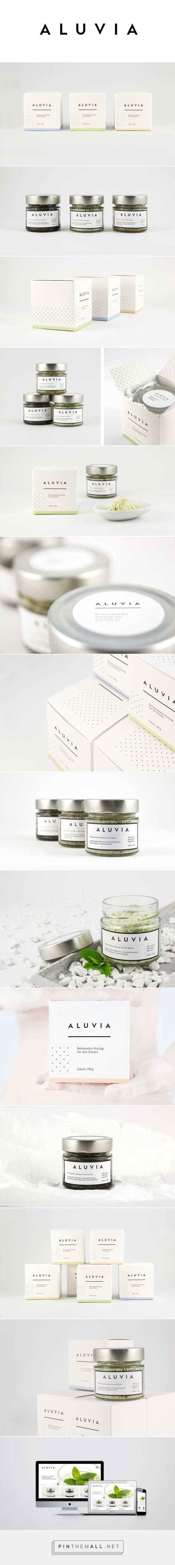 Aluvia Body Care Product Packaging by Christian Pannicke | Fivestar Branding – Design and Branding Agency & Inspiration Gallery | #PackagingInspiration