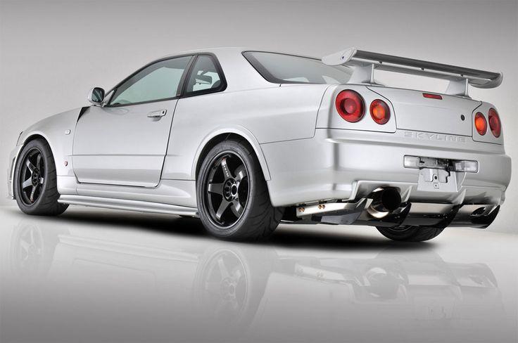 Nissan Skyline R34 //Simply legendary