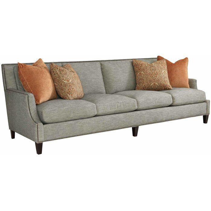 Crawford 4 Seat 108 Recessed Arm Sofa Bernhardt Sofa Cushions On Sofa Sofa