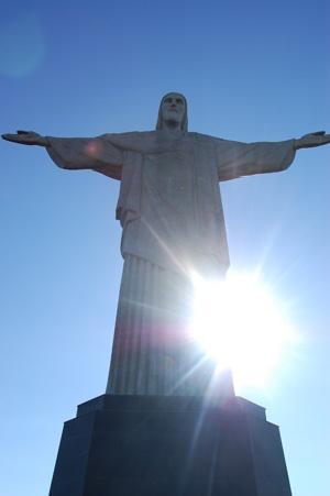 Christ the Redeemer statue in Rio de Janeiro | Adventures in Brazil