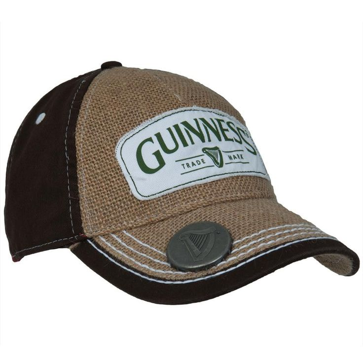 Guinness - Trademark Logo Adjustable Cap W/ Bottle Opener