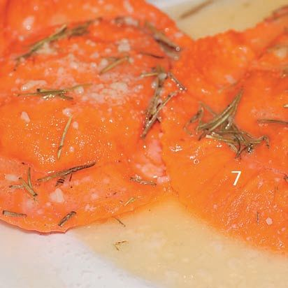 Step 7 - Ravioli with rosemary by Chef Alessandra Spisni