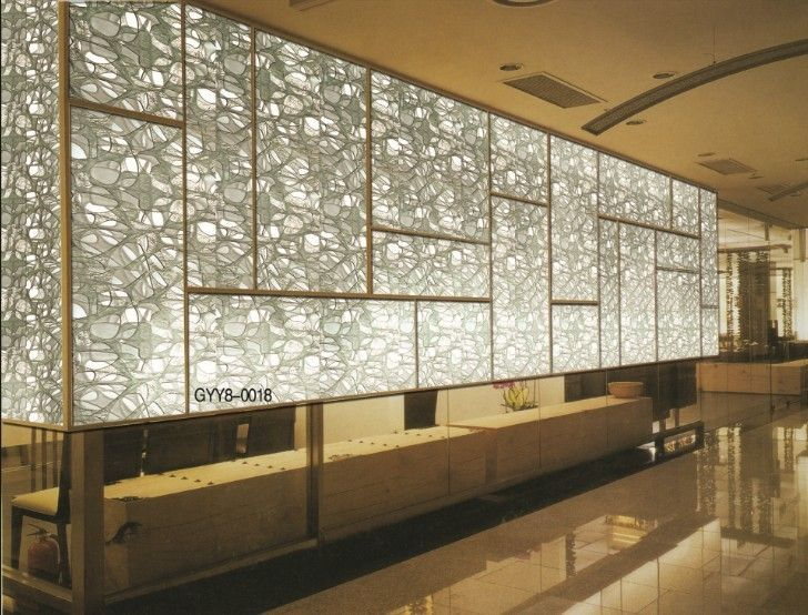 17 best images about glass partition on pinterest partition walls san jose and adobe - Decorative glass wall panels ...