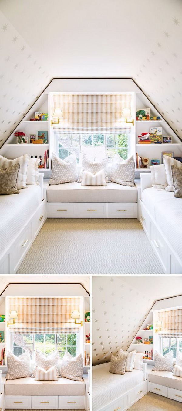 Build An Attic Bedroom Which Provides A