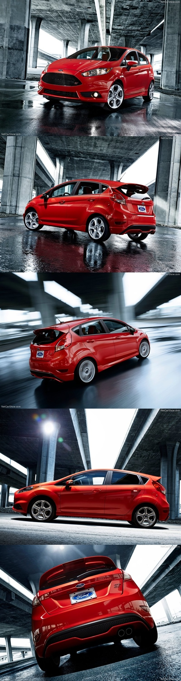 Im not one to fan girl over cars.. But.. But I mean..  Ford Fiesta ST 2013