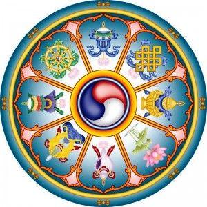simbolos auspiciosos budismo tibetano - Buscar con Google