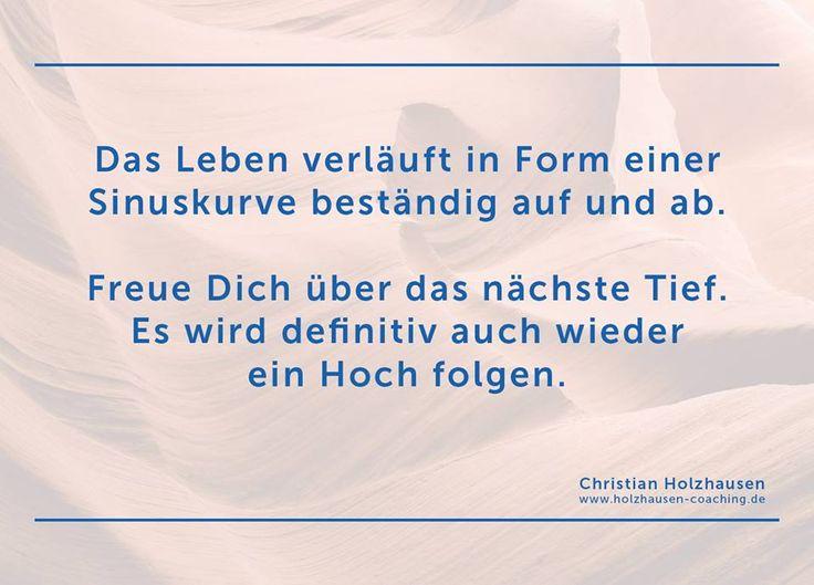#lebenszyklus #hoch #tief #sinuskurve #coaching #christianholzhausen