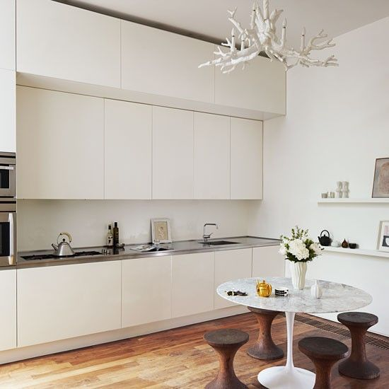 Kitchen | Step inside a calm Edwardian terraced home in north London | housetohome.co.uk