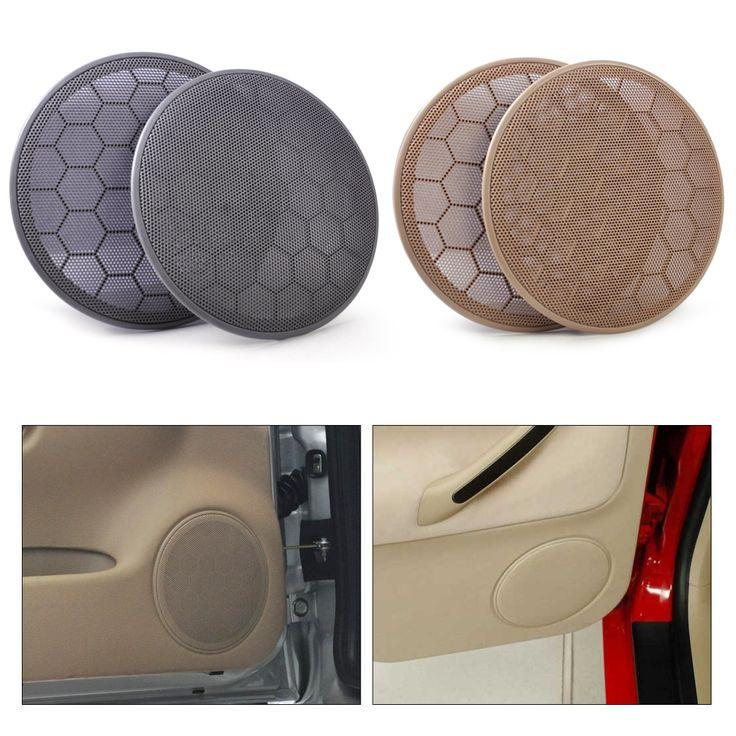 DWCX 2x Door Loud Speaker Cover Grill 3B0868149 for Volkswagen Passat B5 Jetta MK4 Golf GTI 1999 2000 2001 2002 2003 2004 2005 #Affiliate