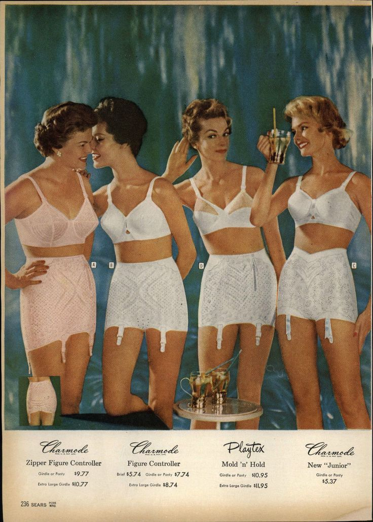 f6ec6f0e47 Charmode and Playtex - Girdles and bras - vintage lingerie
