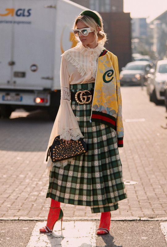 Semaine de mode à Milan: buongiorno, le street style sophistiqué