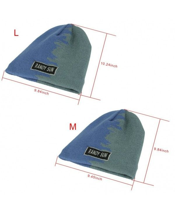Waterproof Stylish Beanies - Green And Blue - CT12NA7YDK4  e124b65abbc