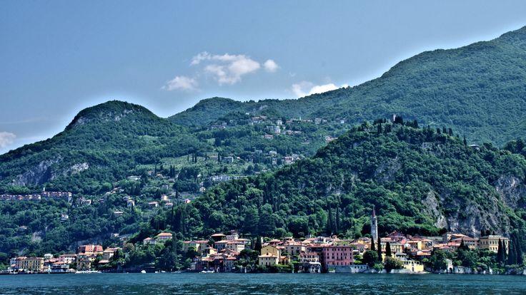 Crossing Lake Como to Varenna