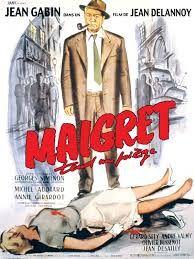 Maigret tend un piège est un film réalisé par Jean Delannoy en 1958. Paris, 1957. Une série de meurtres met la police judiciaire en échec : quatre femmes ont déjà été retrouvées poignardées, leurs vêtements lacérés. Certain de la susceptibilité du coupable, le commissaire Maigret fait croire à son arrestation pour le pousser à se manifester.