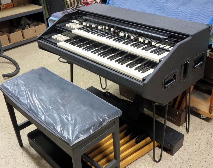 "BB Organ Northern Chop Hammond Organ ""Classic Line-X"" Portable with detachable pedal board and bench by BB Organ."