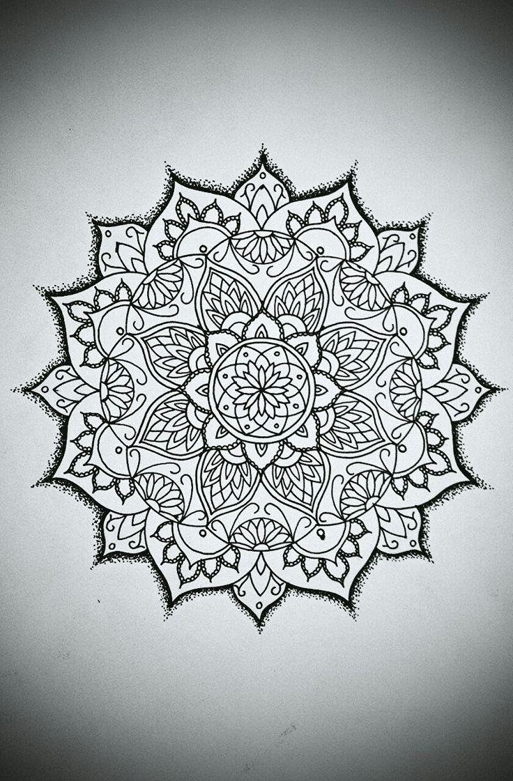 Best 25+ Simple mandala designs ideas on Pinterest ...   736 x 1121 jpeg 179kB