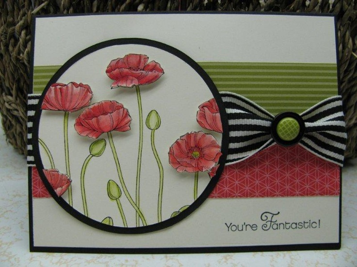by Jenny Engelke, Giddy Stamper: Poppin' Poppies - FMS54