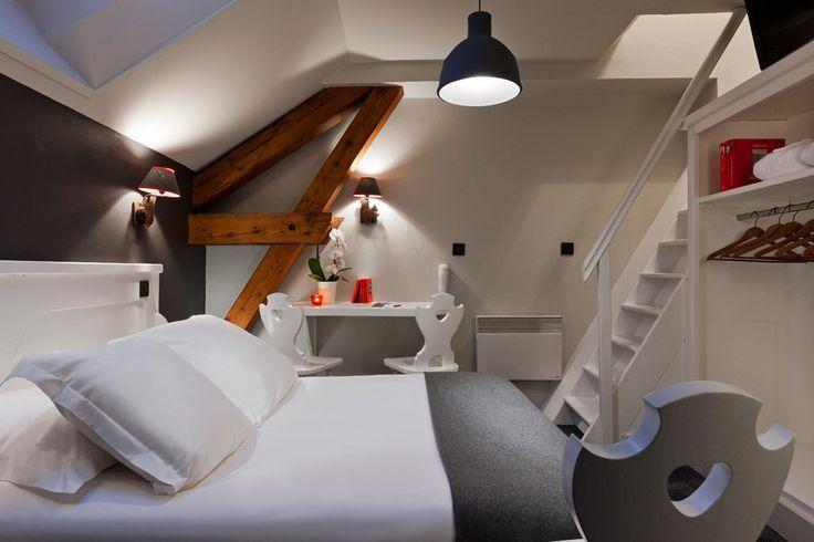 Hôtel Le Faucigny à Chamonix : visite privée