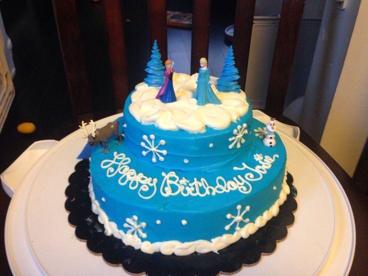 frozen birthday cakes   Back to Post :Frozen Cakes Idea
