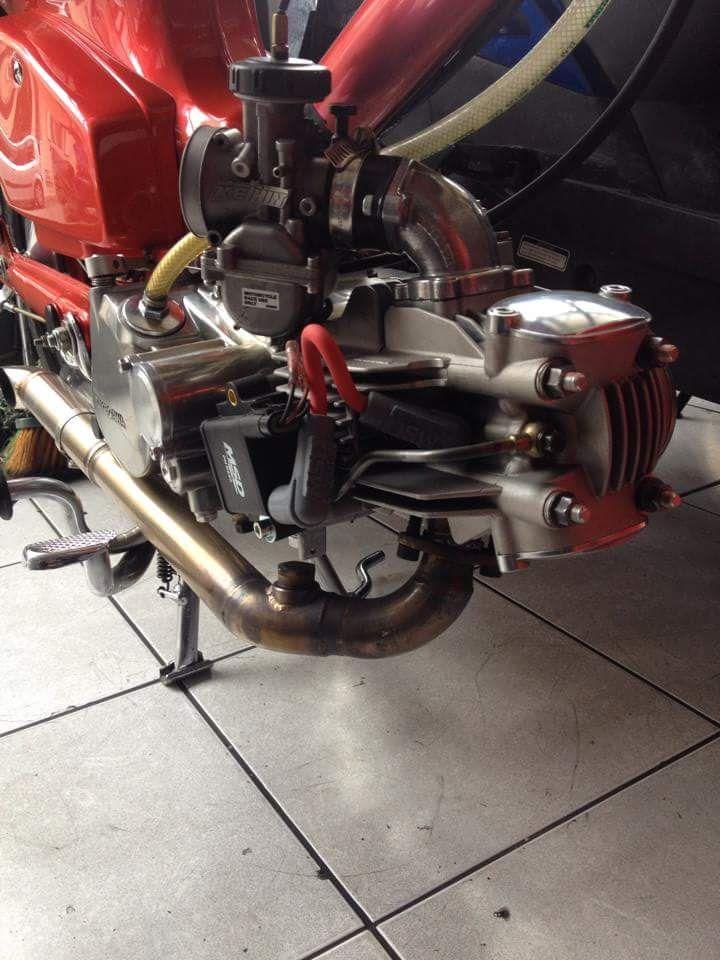 Takegawa special parts - 4 valves - 178cc - Keihin PWK - MSD Ignition