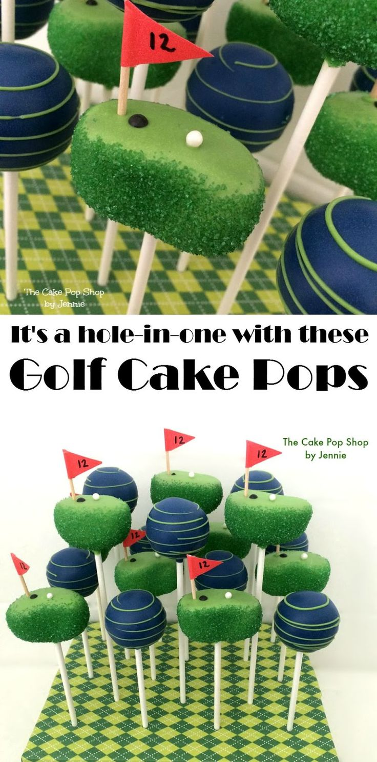 How to Make Golf Cake Pops                                                                                                                                                     More