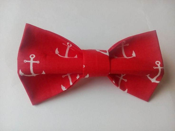 Bow tie Nautical red bow tie Nautical red bow tie Náutico pajarita roja Cravate maritime rouge Bowtie for little boys Red ties for kids by accessories482 on Etsy