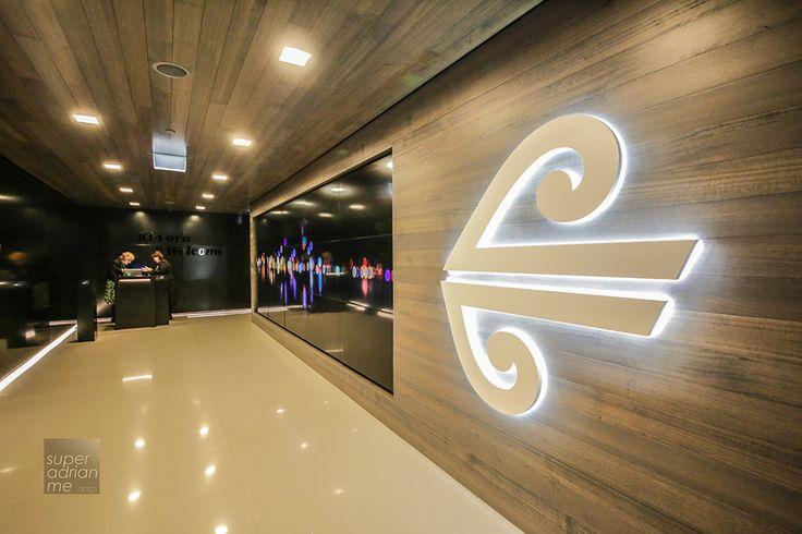 Air New Zealand Koru Lounge in Auckland