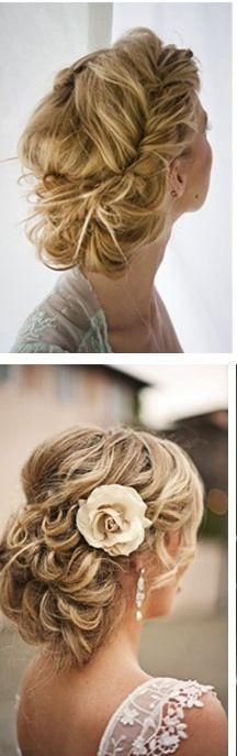 Updo hair...