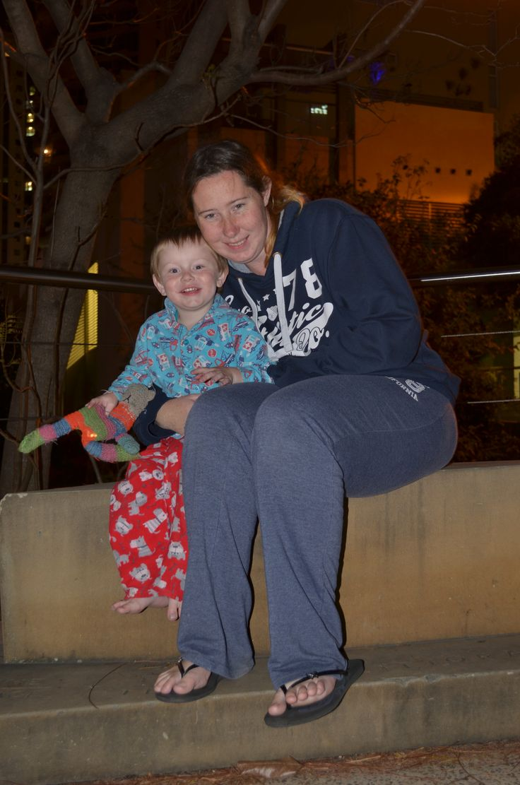 Photo of my wife and son taken by the story bridge  ISO: 200 Aperture: F/4.8 Shutter speed: 1.0sec